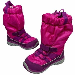 Stride Rite | Pink Purple Insulated Snow Boots